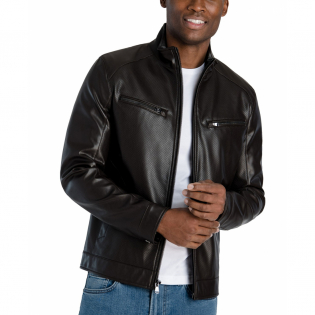 Men's 'Perforated Hipster' Jacket