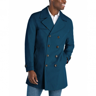 Men's 'Cropped' Trench Coat