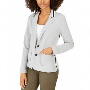 Women's 'Stripe-Trim' Blazer