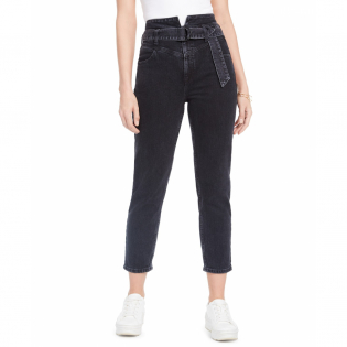 Women's 'Belted 80s' Jeans