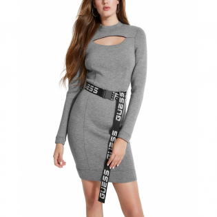 Women's 'Charlize' Long-Sleeved Dress