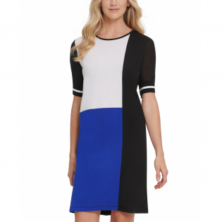 Women's 'Colorblock' T-shirt Dress