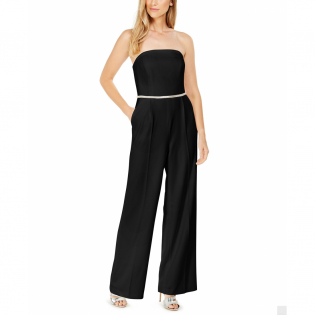 Women's 'Rhinestone' Off The Shoulder Jumpsuit