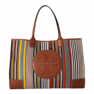 Women's 'Ella Webbing Patchwork' Tote Bag