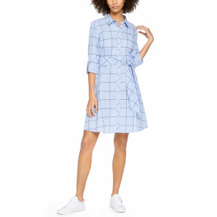 Women's 'Checked' Shirtdress
