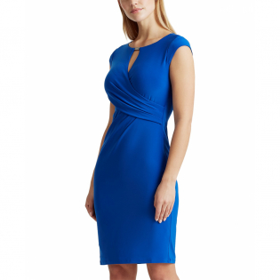 Women's 'Wrap-Style' Sleeveless Dress