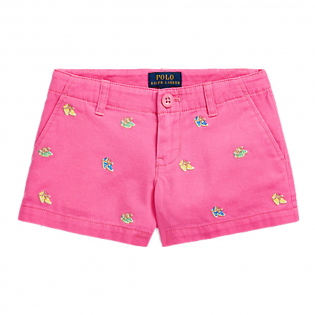 Toddler & Little Girl's 'Espadrille Chino' Shorts