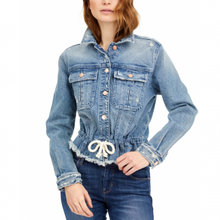 Women's 'Icon Cropped Denim' Jacket