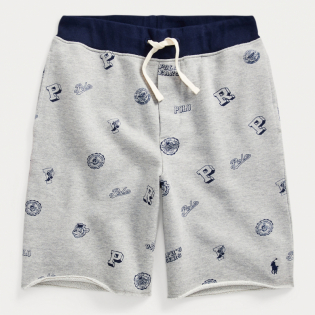Big Boy's 'Collegiate Twill Terry' Shorts