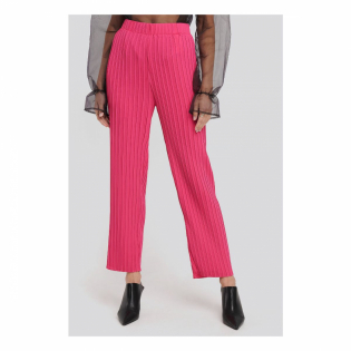 Women's 'Elastic Waist Pleated' Trousers