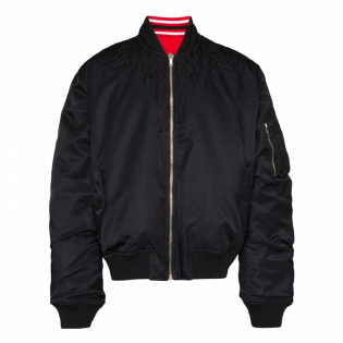 Men's 'Wings Reversible' Bomber Jacket