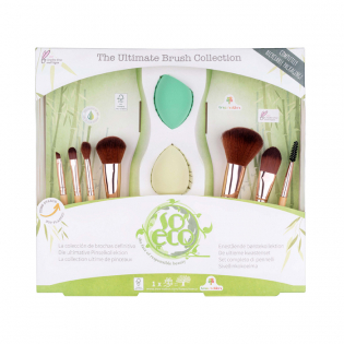 'Ultimate Brush & Sponge' Make-up Set - 7 Units