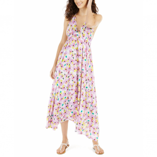 Women's 'Floral Halter' Maxi Dress
