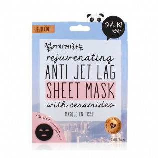 'Anti Jet Lag' Face Mask
