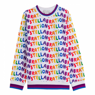 Girl's 'Stellabration' Sweater