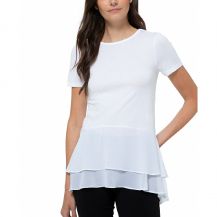 Women 'Layered-Hem' Top