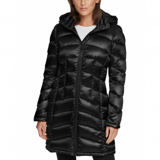 Women's 'Shine Hooded Packable' Puffer Coat