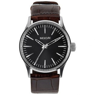 Men's 'Sentry 38 Leather' Watch