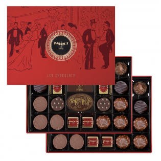 Luxury cardbox 44 assorted Chocolates