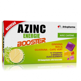 Azinc Energy Booster Tabletten