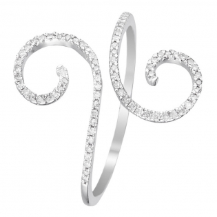 'Spirale d'Amour' Ring