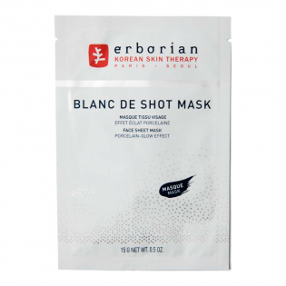 'Blanc De Shot' Face Mask - 15 g