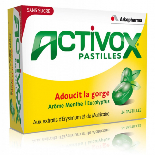 Activox - Box mit 24 Tabletten