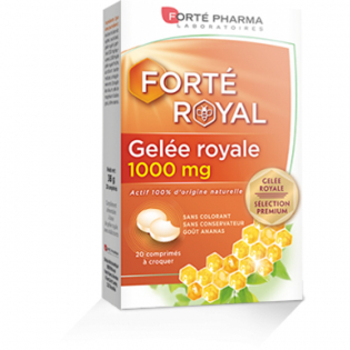 Royal jelly chewable 20 tablets