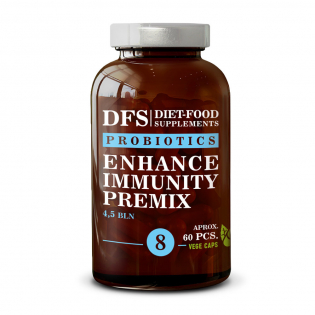 'Enhance Immunity Premix' Capsules - 60 Pills, 27 g