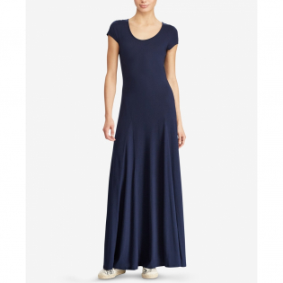 Women's 'Scoop Neck' Maxi Dress