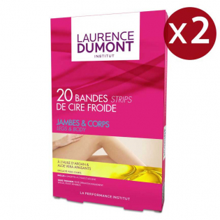 Institut - Body And Legs Cold Wax Strips - 20 x