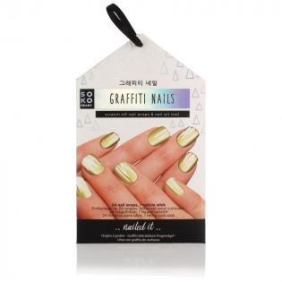 'Ready Graffiti' Nail Stickers