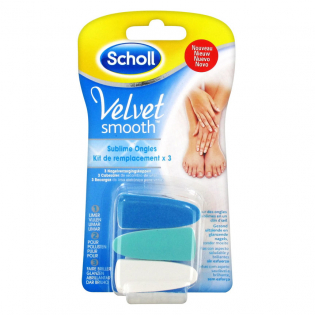 'Velvet Smooth Sublime Nails' Replacement Kit - 3 Units