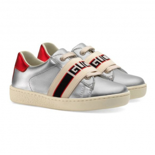 Girl's 'Logo' Sneakers