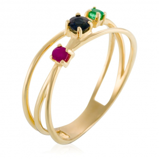 'Multi amour' Ring