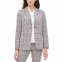 Women's 'Plaid One-Button Elbow-Patch' Blazer