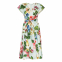 Women's 'Fleurs' Midi Dress