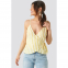 Women's 'Wrap Over Side Singlet' Top